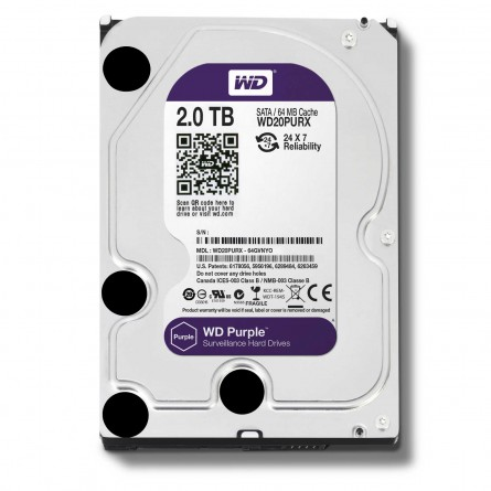 WD20PURX Disque dur Purple 2To
