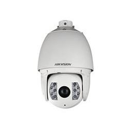 SD6AE530U-HN Dôme motorisé IP de 200°/sec. avec éclairage IR de 200 m, antivandalisme pour extérieur.