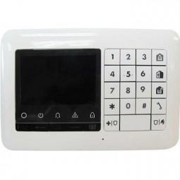 Clavier LCD radio + lecteur de badge KP-250 PG2