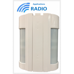 VXI-180-R Détecteur 2 x 12 m application radio