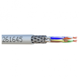 CABLE RESEAU S/FTP CAT6A CORDON 10M