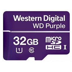WD Purple Carte mémoire flash 32 Go