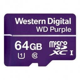 WD Purple Carte mémoire flash 64 Go