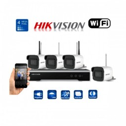 Kit bullet Wi-Fi 4 canaux...