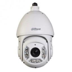 SD6C430U-HN Dôme motorisé IP de 160°/sec. avec éclairage IR de 100 m, pour extérieur.